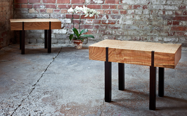 Meubles Design En Bois Recycl Tables Basses Tabourets