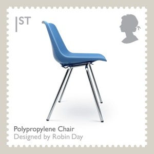 Polypropylene chair par Robin Day