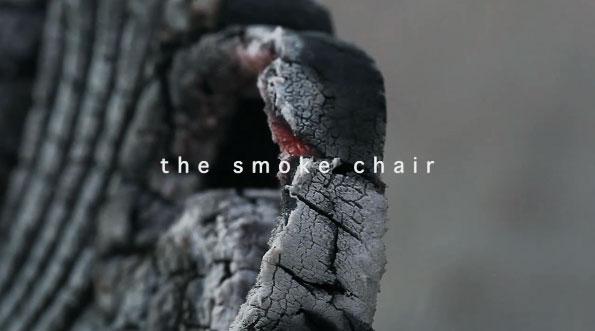 Smoke Chair par Maarten Baas pour Moooi