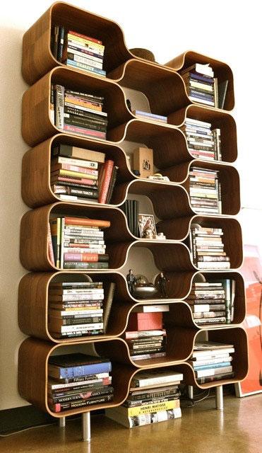 Bibliothèque vintage années 70