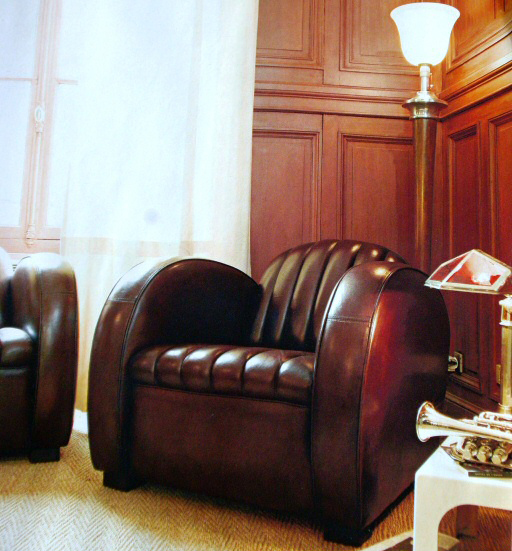 Fauteuil club cuir Roadster