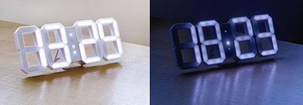 Horloge design White & White par Kibardin Design