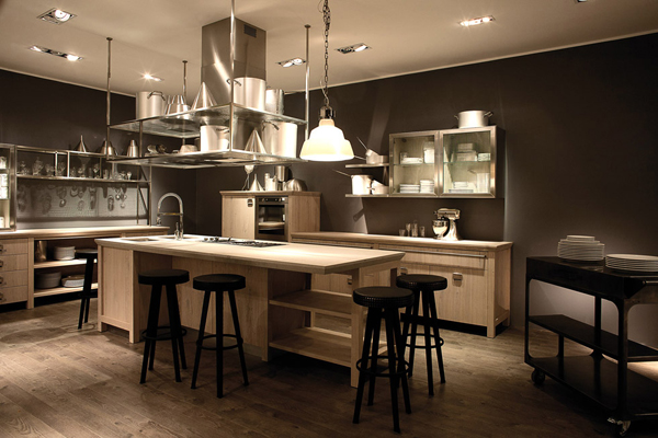 Cuisine Successful Living par Diesel pour Scavolini