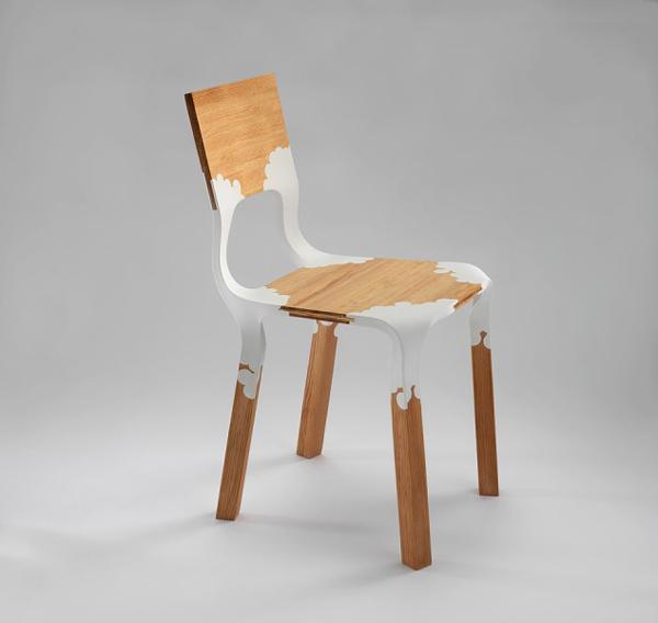 Chaise En Bois Et Plastique