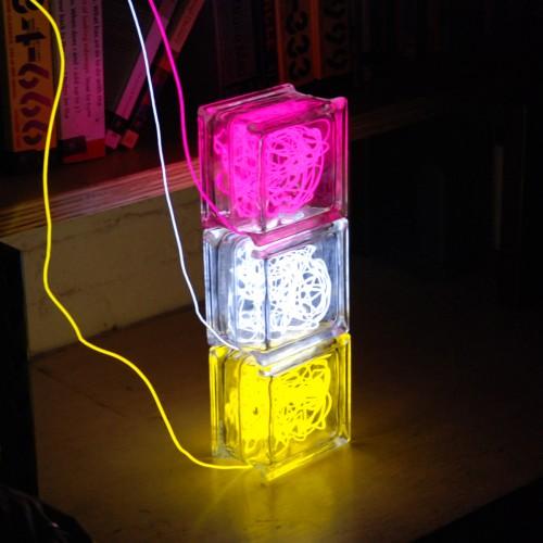 Lampes Béta bloc couleurs