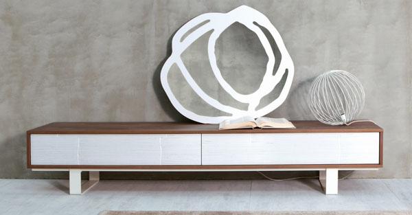 meuble bas tv design italien ? artzein.com - Meuble Bas Tele Design