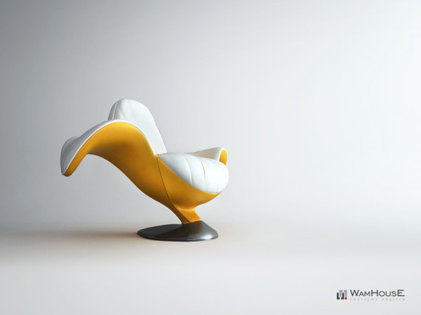 fauteuil Banane