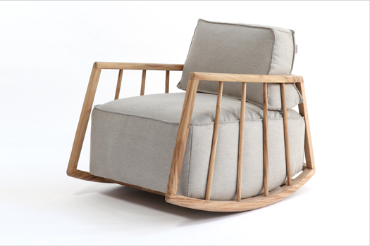 Rocking chair par paratoner