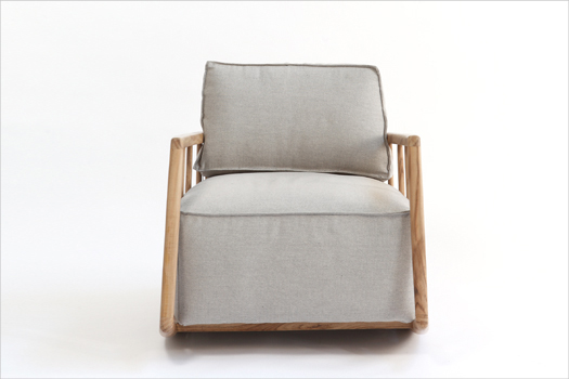 Rocking chair Mama par paratoner de face