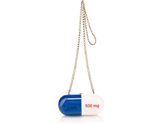 Sac à main pilule 20 ans Christian Louboutin