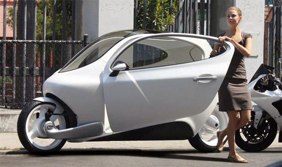 Lit C1 la moto/voiture électrique