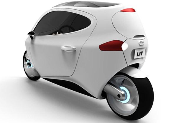 Lit C1 le véhicule électrique mi moto mi voiture