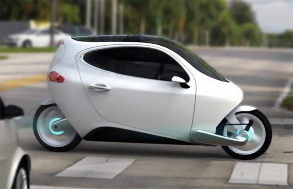 Lit C1 le véhicule électrique mi moto mi molette