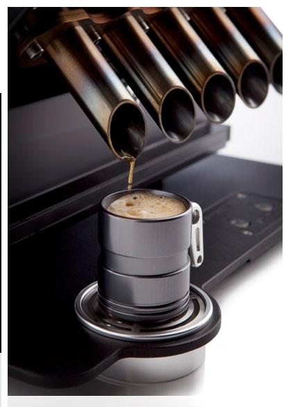 Machine à café Espresso Veloce - détail