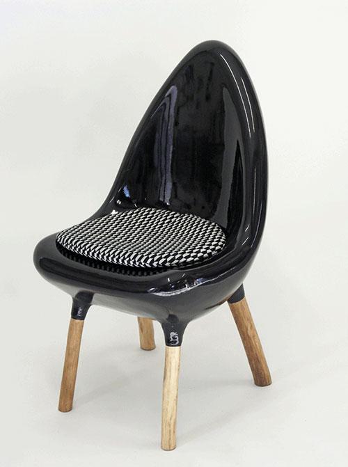 fauteuils et chaises design en r sine et tissu italien. Black Bedroom Furniture Sets. Home Design Ideas